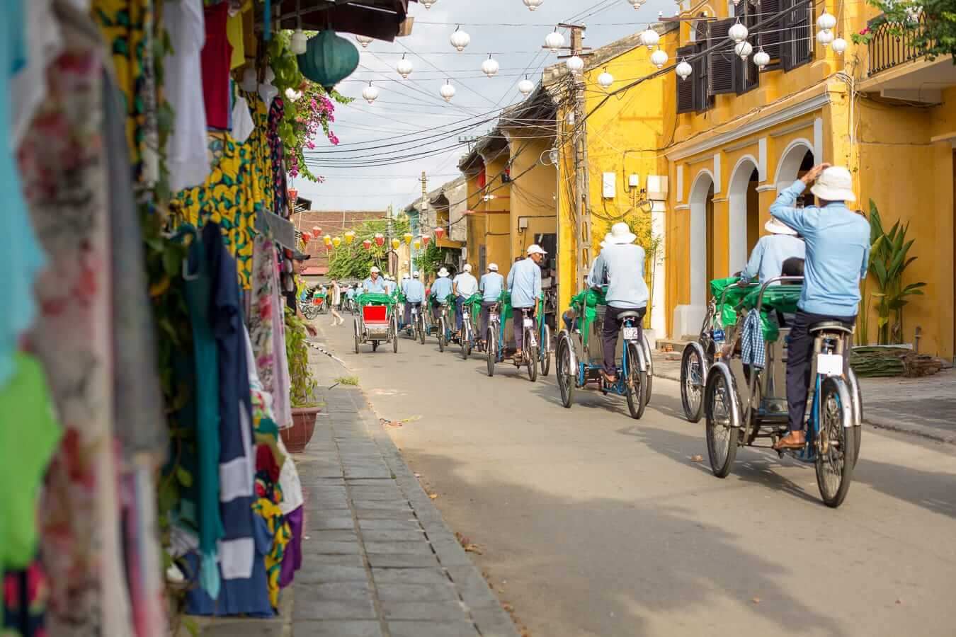 rickshaws: Where to stay in Hoi An